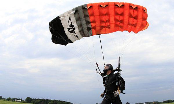 Landing a PD canopy